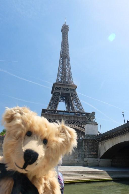 April in Paris: Eiffel Tower.