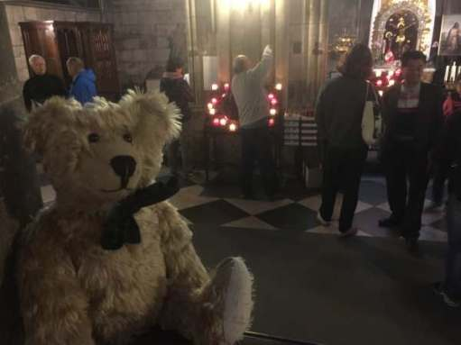 Three years ago, following our Blog course with the Gentle Author, we jumped on a Eurostar to Paris and lit a candle for Diddley in Notre Dame.