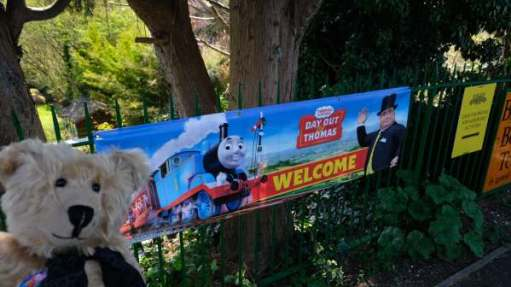 "Welcome to ""A Day Out with Thomas"" at the Watercress Line."