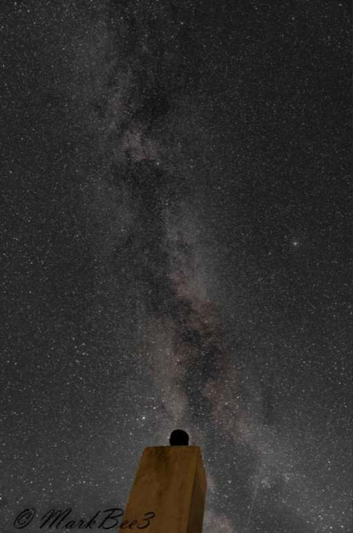 The Milky Way as you will never see it, unless you find somewhere free of light pollution on a clear night.