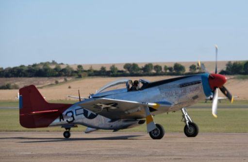 Mustang in very poignant colour scheme. The 'Red Tails' are a very special story of African American airmen who fought in the second world war. Known as the Tuskegee Airmen, they fought for their country, despite race laws that led to the American military being racially segregated itself.
