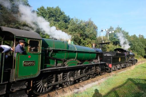 West Somerset Railway 6960 Raveningham Hall.