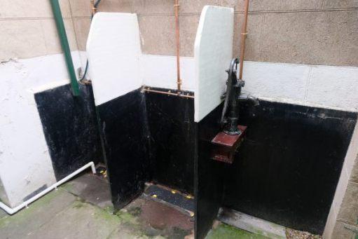 Somerset & Dorset Railway Museum - Victorian Urinal.