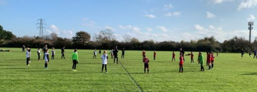 East Preston U11 and Wick Dynamos.