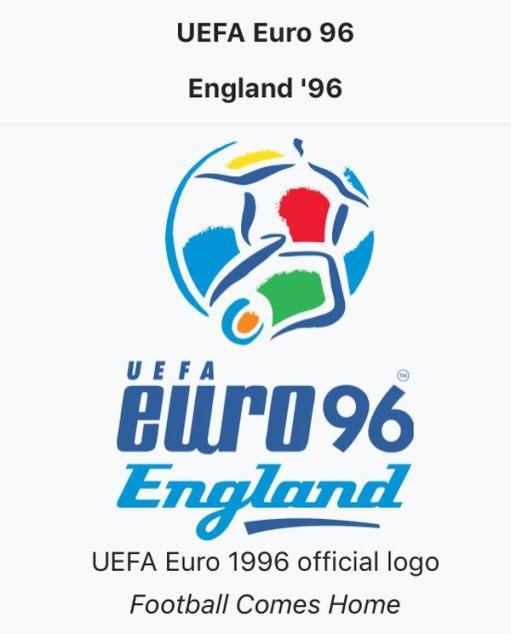 Euro '96 Poster.