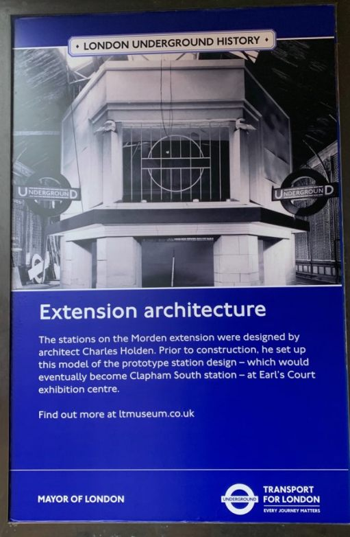 Poster describing the architecture on the Morden extension.