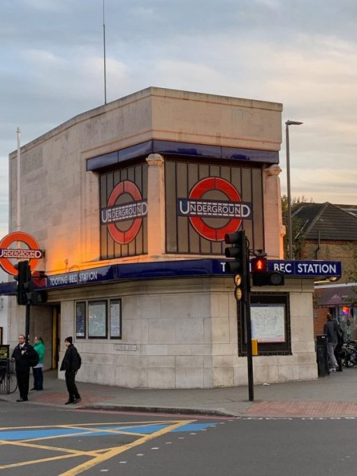 Tooting Bec Station - the other entrance.