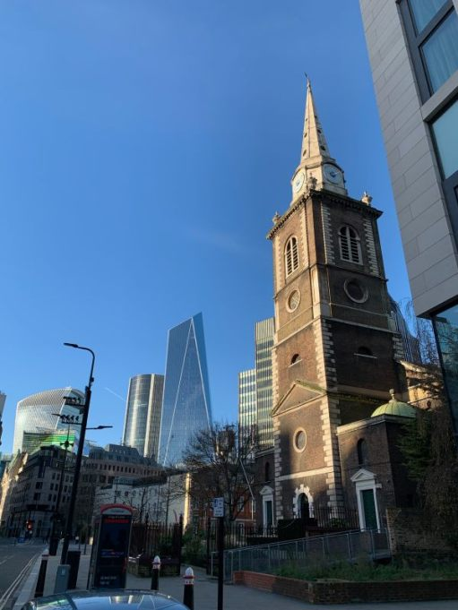 Church of St Botolph without Aldgate.
