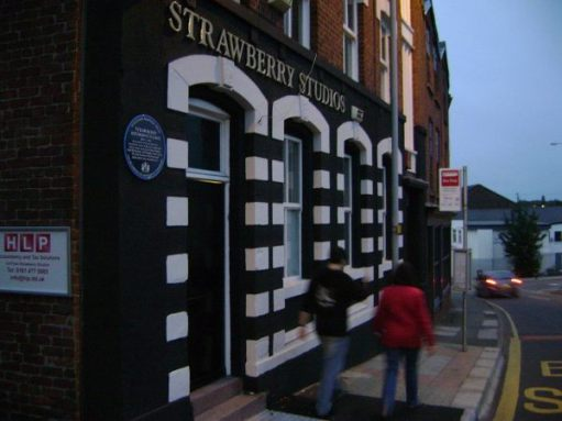 Strawberry Studios North (Stockport) today.