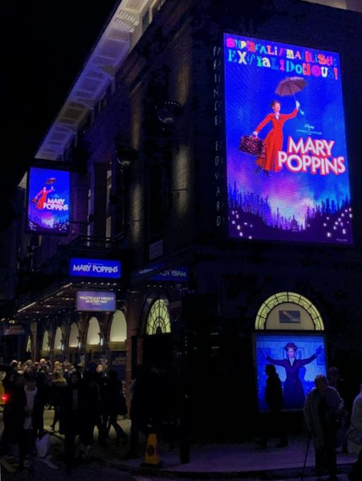 Christmas. Mary Poppins.