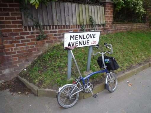 Menlove Avenue, Liverpool.