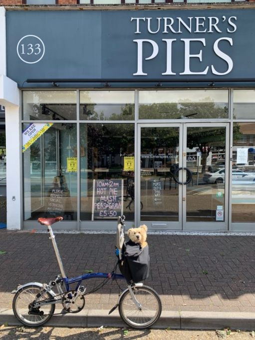 July 2020. Best pie shop in the world. Rustington.