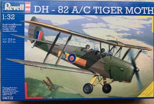 Revell DH-82 A/C Tiger Moth 1:32 kit.