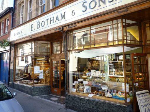 E Botham & Sons. Bakers. Whitby.