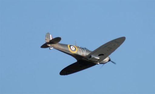 Cardiac Rehab. Battle of Britain Airshow, Duxford… Spitfire.