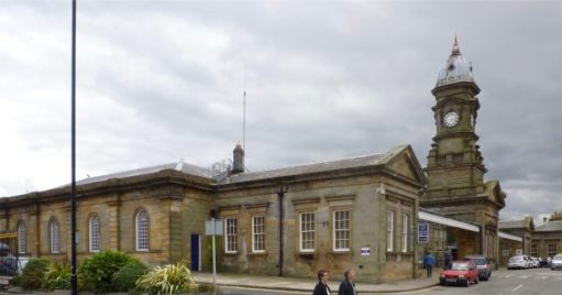 Scarborough Railway Station.