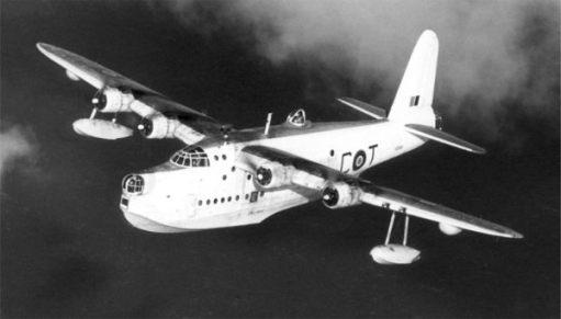 Sunderland Flying Boat.