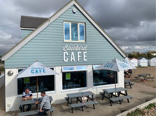 The Bluebird Café. Ferring-by-Sea.