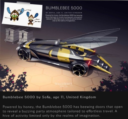 The Rolls-Royce Bumblebee 5000.