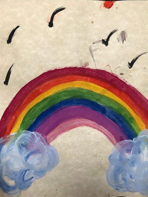 Painted Rainbow.