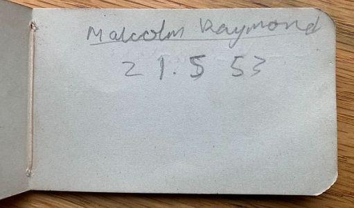 Malcolm Raymond 21.5.53.