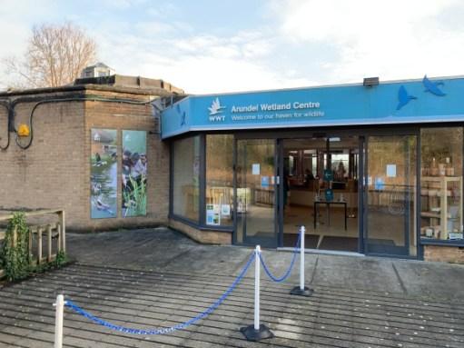 Arundel Wetland Centre Welcome Centre.