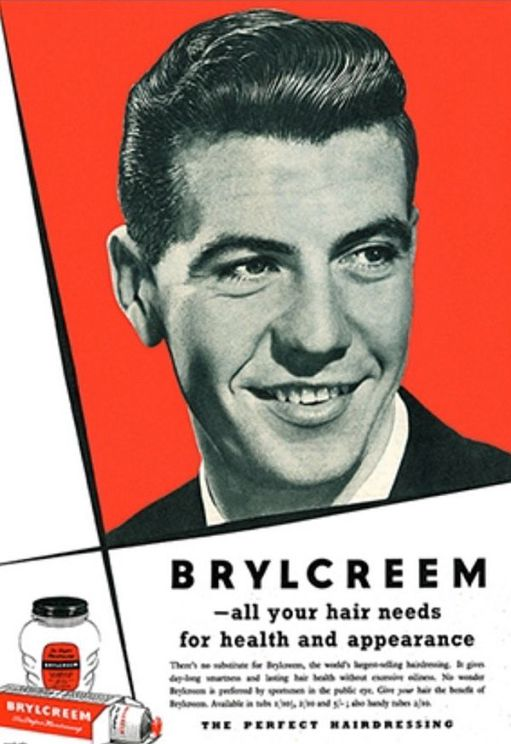 Johnny Haynes advert for Brylcreem.