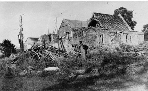 St James Church Abinger Common. 3 August 1944.