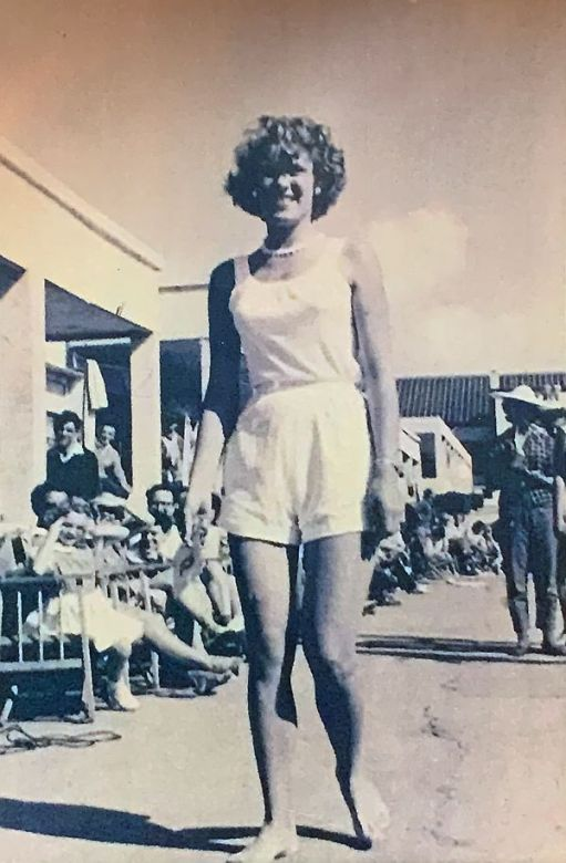 Wendy. Holiday Camp beauty contest. 1954.