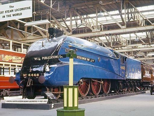 Mallard. LNER 4468.