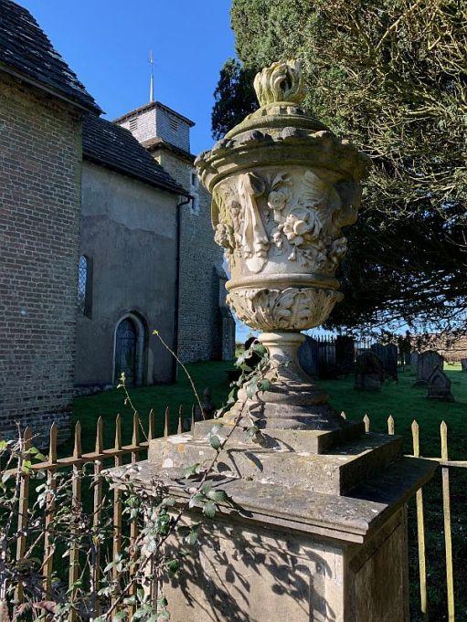 Tomb of Gulielmi Glanvill.