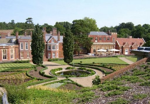 The Italianate Gardens of Wotton House. Designed by John Evelyn.