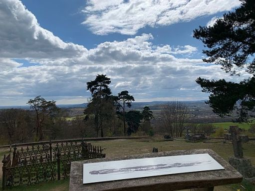 View from St Martha's Viewpoint.