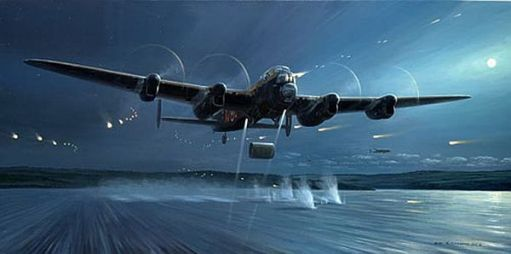 The bouncing bomb of the Dambusters Raid