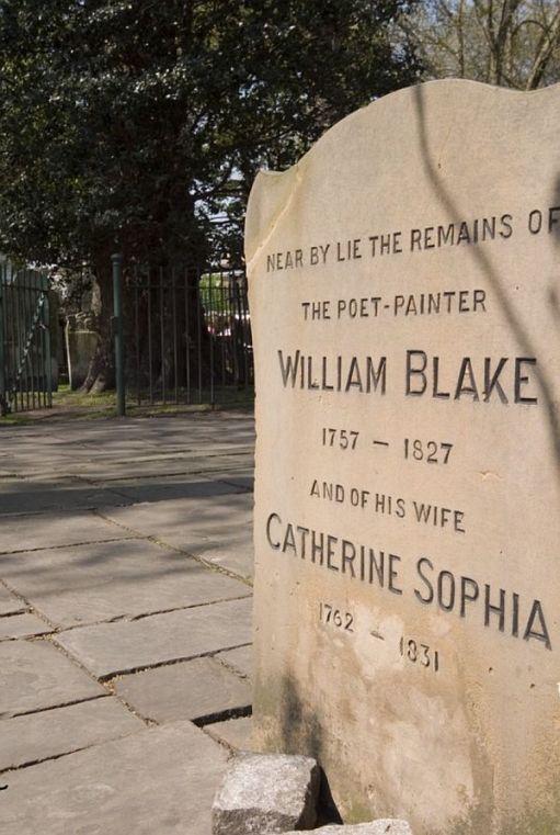 William Blake Bunhill Fields.