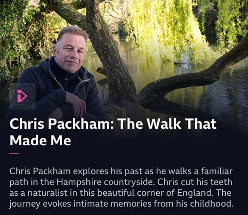 Chris Packham: The Walk That Made Me.