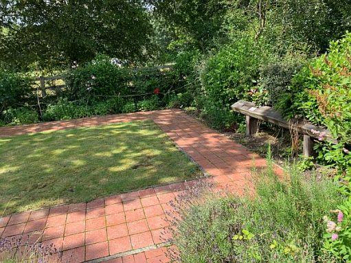 Memorial Garden Bluebell Line. Horsted Keynes.