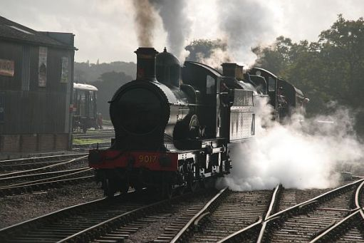 Double header on the Bluebell Railway.