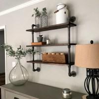 DIY: Pipe Shelving - Mindfully Gray