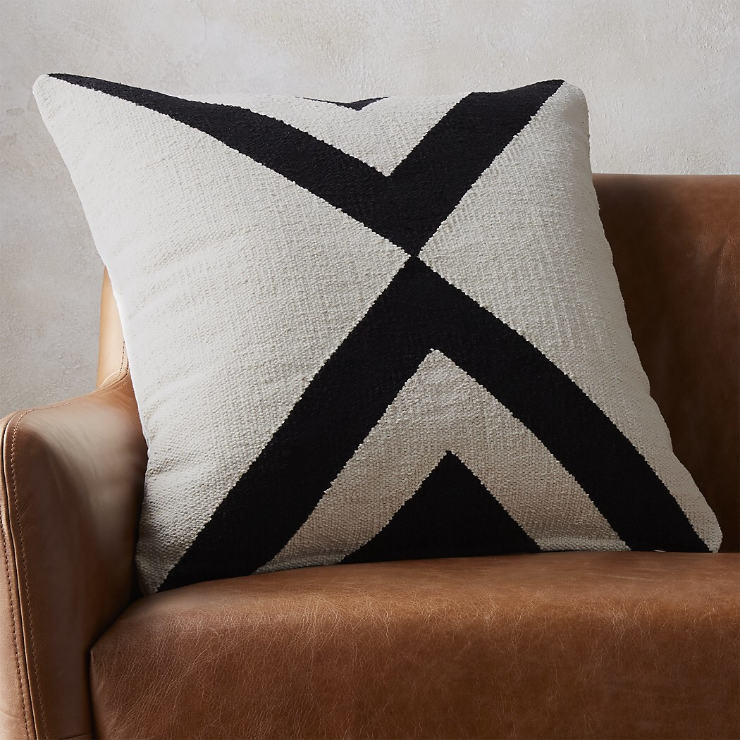 Black White And Gray Throw Pillows : New Year, New Throw Pillows - Mindfully Gray