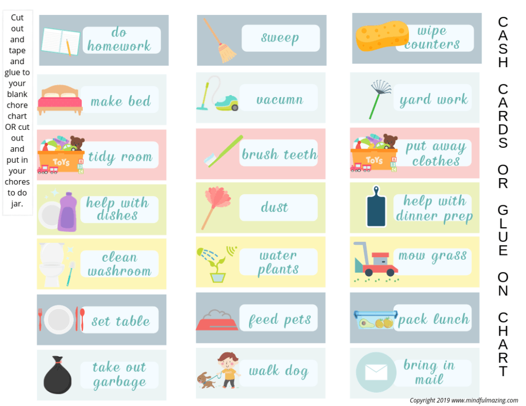 5 Simple Steps To Create A Chore Chart For Kids That Works