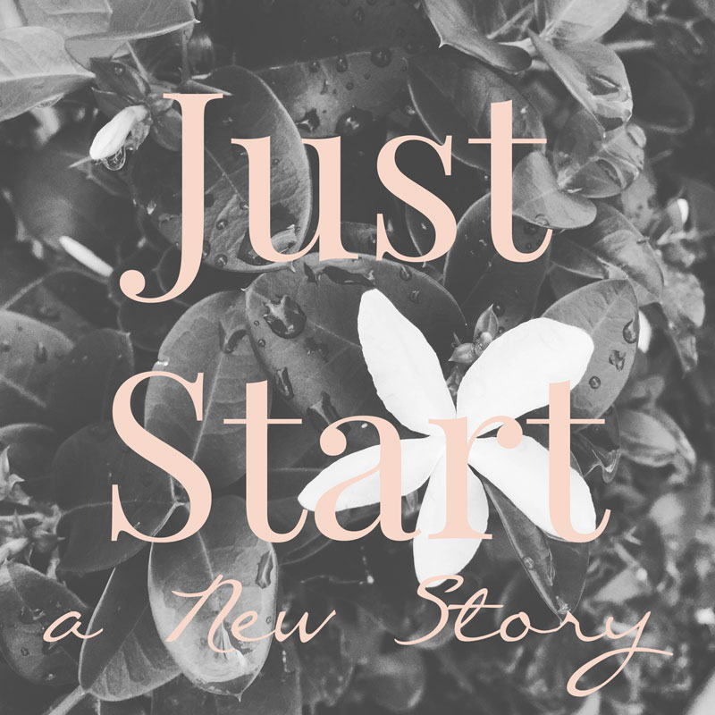 Just Start a New Story (1/2)