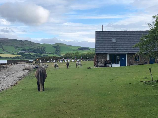 Masters retreat on Holy Isle 3