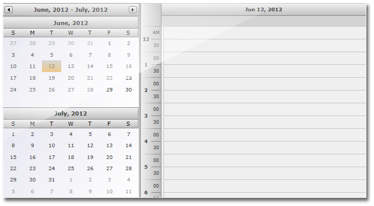 MindFusionScheduling for WPF  Calendar and Schedule