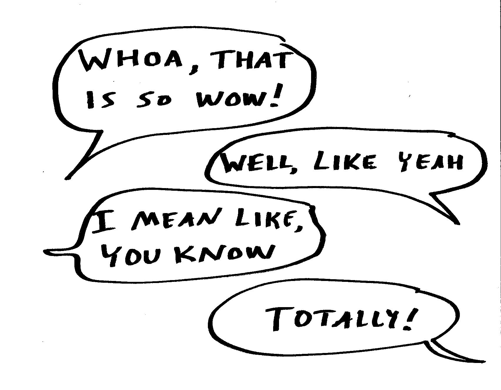 Vague Talking And The Loss Of English