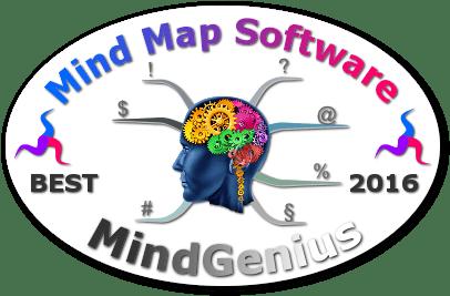 World's Best Mind Mapping Software 2016 Challenge - MindGenius badge