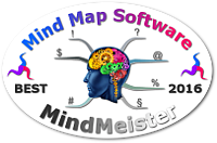 World's Best Mind Mapping Software 2016 Challenge - MindMeister mini badge