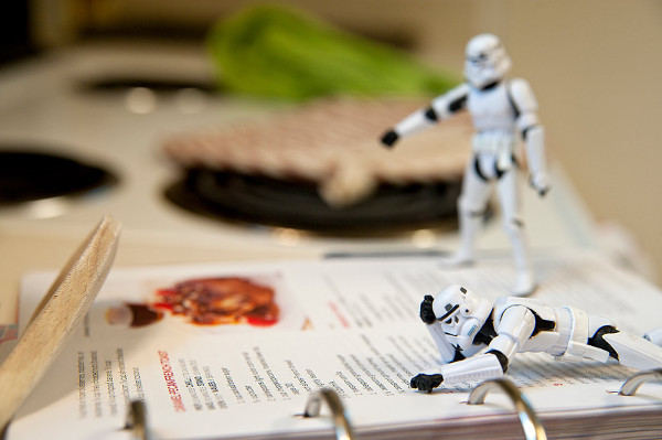 storm troopers want to cook