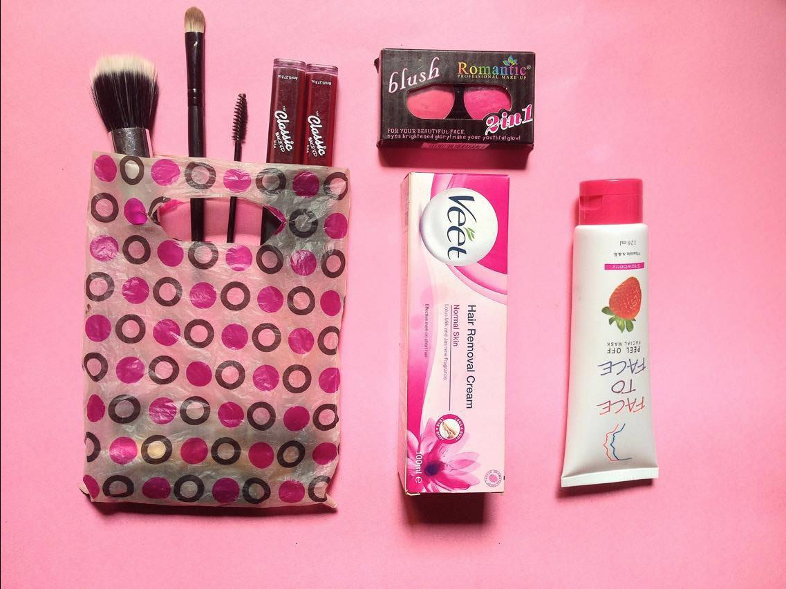 how-to-treat-yourself-pink-aesthetic-pink-background-pink-beauty-products