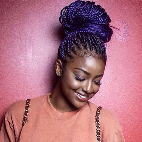 fa5b49c6a2e8a5d1dfccafd74e8db973--box-braids-styling-purple-box-braids